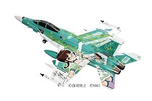 """1/72 飛行機シリーズ SP293 F/A-18E/F スーパーホーネット """"アイドルマスター秋月律子"""""""
