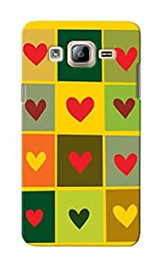 CimaCase Hearts Designer 3D Printed Case Cover For Samsung Galaxy On5