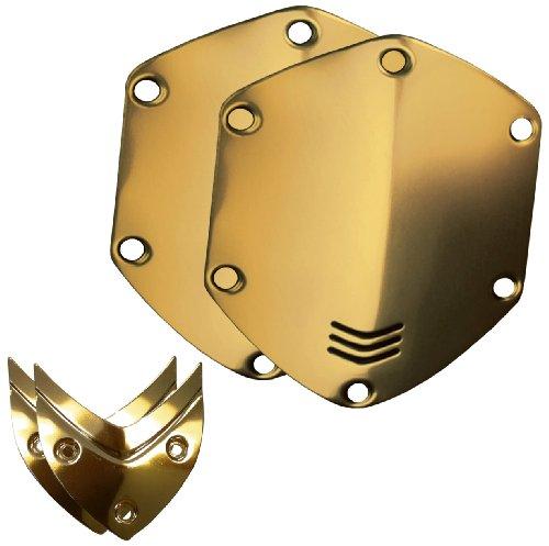 V-Moda Crossfade Over-Ear Headphone Metal Shield Kit (Gold)