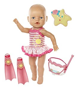 Amazon Com Baby Born Baby Born Amazing Bubbles N Swim