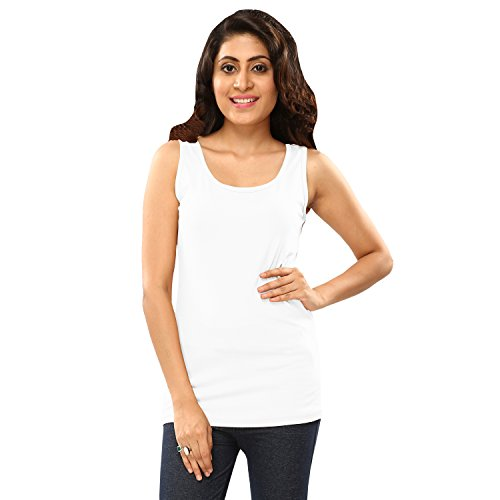 Hbhwear Womens Tank Top - White