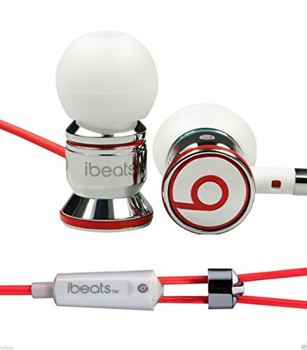 0bc88e9cc7d New Monster Beats By Dr Dre Ibeats in Ear Headphones Earphones Chrome