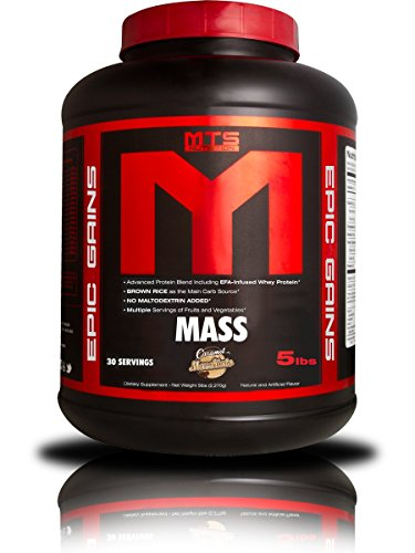 MTS Nutrition Epic Gains (Caramel Macchiato, 5 Pounds) (Cb 1 Weight Gainer compare prices)