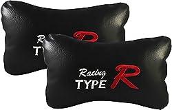 AUTO CAR WINNER Type R Black Car Neck Rest Cushion