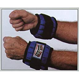 Adjustable Wrist Weights- Up To 4 Lbs.