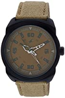 Fastrack OTS Explorer Analog Brown Dial Men's Watch - 9463AL06