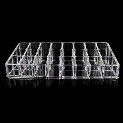 Beauty-Acrylic-Makeup-Organizer-Lipstick-Holder-24-Grids-1034