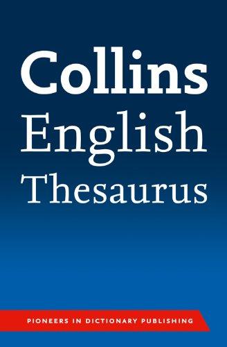 Collins English Paperback Thesaurus