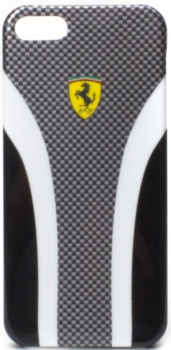 Best Price Ferrari Scuderia iPhone 5 Carbon Shield Hard Case (Black)