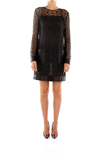 115AC577AT12987T9000-Tom-Ford-Robes-Femme-Coton-Noir