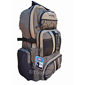 65 70 Litre Camping Backpack Rucksack Bag Tracker 733Br