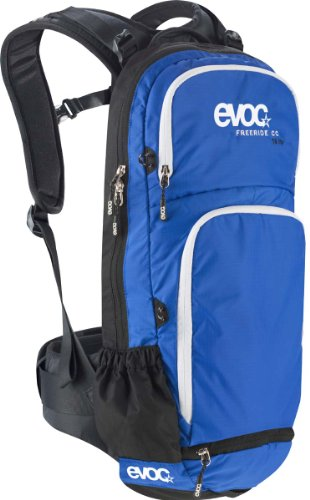 Evoc Freeride Cc-16L Unisex Protector Backpack - Dazzling Blue/Black, Small