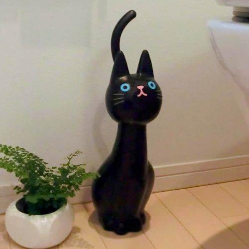 Cat toilet brush black toilet supplies