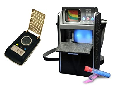 Diamond Select Toys Star Trek Communicator and Geological Tricorder (Amazon Exclusive)