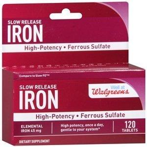 walgreens-iron-slow-release-high-potency-ferrous-sulfate-45mg-tablets-120-ea