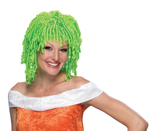 Rubie's Costume Curly Cutie Wig, Green, One Size - 1