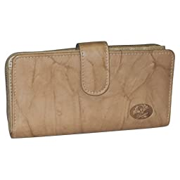 Buxton Heiress Ensemble Clutch-Exclusive Colors (Ginger Snap (GI))