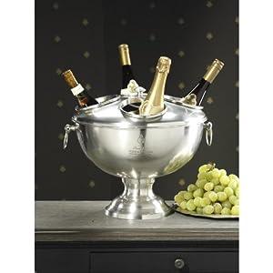 Zodax Four Bottle Handled Champagne Chiller