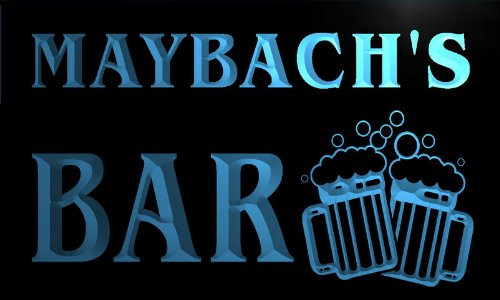 w129273-b-maybach-name-home-bar-pub-beer-mugs-cheers-neon-light-sign
