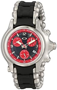 Oakley Men's 10-247 Holeshot Stainless Steel Bracelet Edition Chronograph Watch
