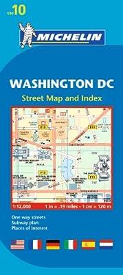 Michelin Washington DC Map 10 (Maps/City (Michelin))