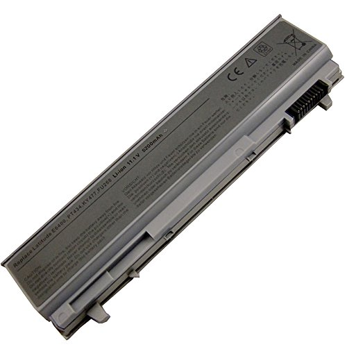 Dell Latitude E6410 E6510 E6500 E6400 Precision M4500 312-0748 Replacement Li-Ion Laptop Battery (4400 mAh) (Latitude E6410 Battery compare prices)
