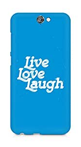 Amez Live Love Laugh Back Cover For HTC One A9