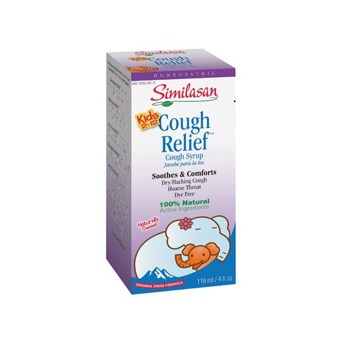 Similasan Kids Cough Relief Syrup 4 Fl Oz front-666924