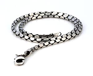 Bico Snake 16 inch Chain Necklace (F14 16in) | Amazon.com