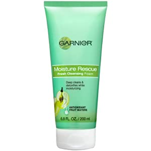Garnier Moisture Rescue Fresh Cleansing Foam, 6.80 Fluid Ounce