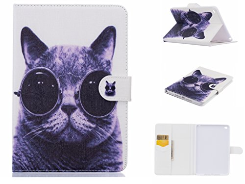 iPad Air Case,SmartShell Case, Dteck(TM) Ultra Slim Lightweight Flip Stand Leather Smart Case w/[Auto Wake/Sleep] for Apple iPad Air (iPad 5) 2013 Model,Cool Cat (Cool Ipad Air 1 Cases compare prices)