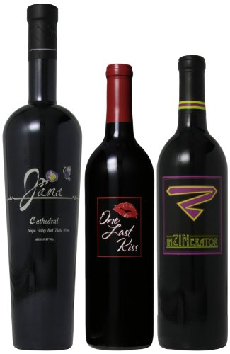 Scott Harvey Wines California Red Wines Mixed Pack, 3 X 750 Ml