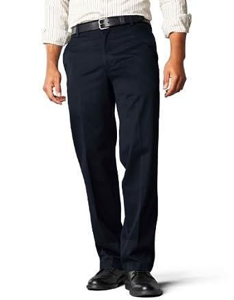 Low Price Dockers Men's Signature Khaki D2 Straight Fit Flat Front Pant