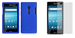 Sony Xperia Ion (AT&T) Premium Combo Pack - Blue Silicone Soft Skin Case Cover + Atom LED Keychain Light + Screen Protector