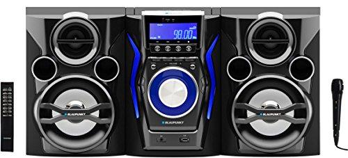 Blaupunkt MC60BT Impianto Stereo CD MP3 USB Bluetooth Karaoke 150W