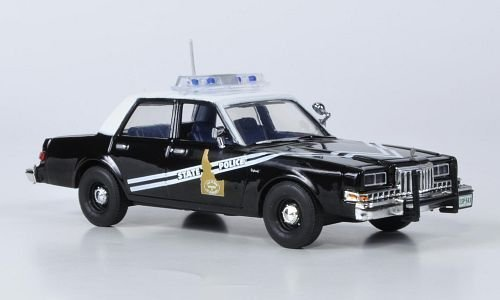 dodge-diplomat-idaho-state-police-1985-model-car-ready-made-first-response-143-by-dodge