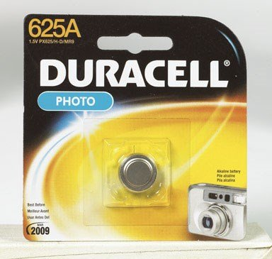 Duracell Photo Battery 1.5 V Model No. 625 A Carded