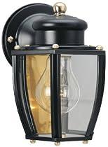 Westinghouse Lighting 66961 60-Watt Black Wall Lantern - Quantity 12