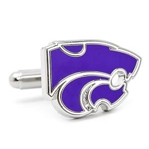 NCAA Kansas State Wildcats Cufflinks by Cufflinks