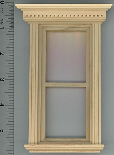Dollhouse Miniature Non-Working Yorktown Window by Houseworks (Dollhouse Doors And Windows compare prices)