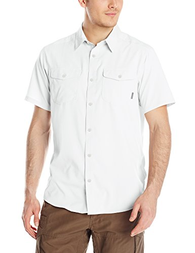 Columbia Sportswear Men's Utilizer II Solid Short Sleeve Shirt, White, Medium