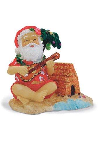 Island Heritage Santa on The Beach Ornament