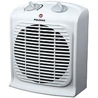 Pelonis Portable Fan Heater (White)
