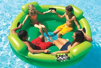 The Shock Rocker For Swimming Pool & Beach