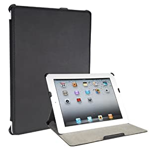 Toblino 2 black leather iPad 2 multi-angle stand case
