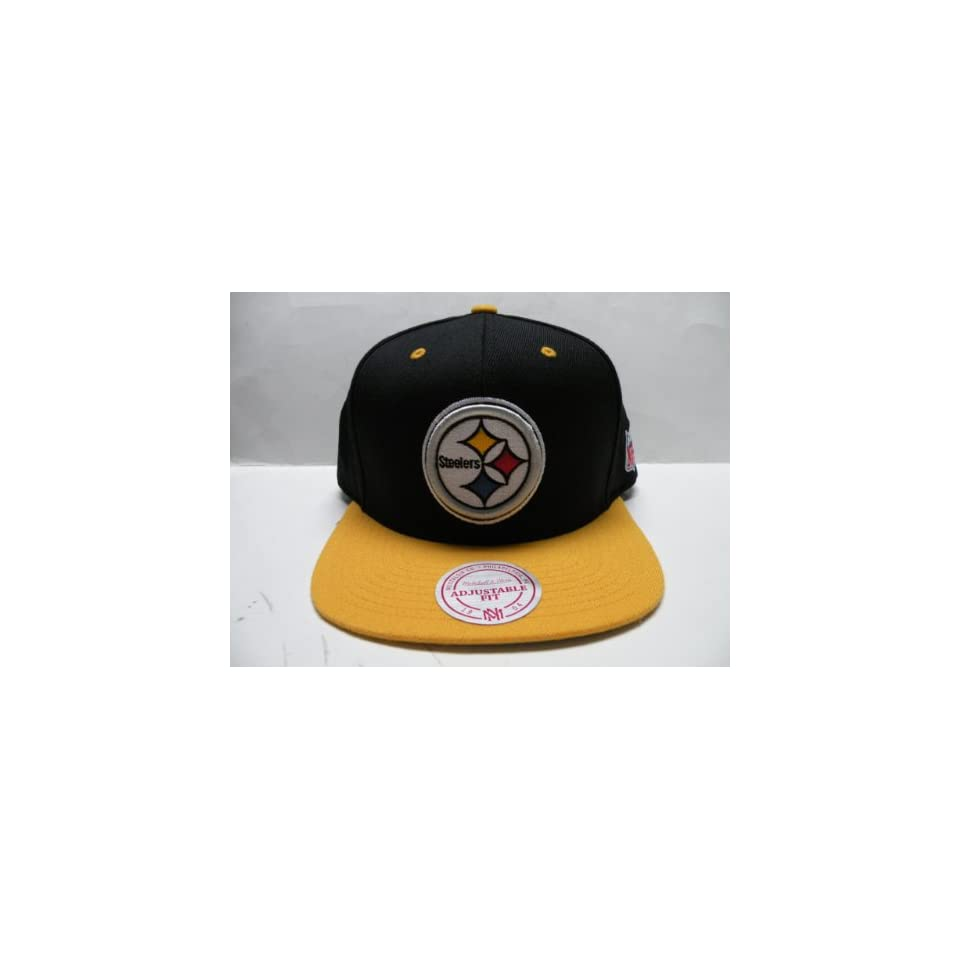 NFL Pittsburgh Steelers 2 Tone Retro Snapback Cap