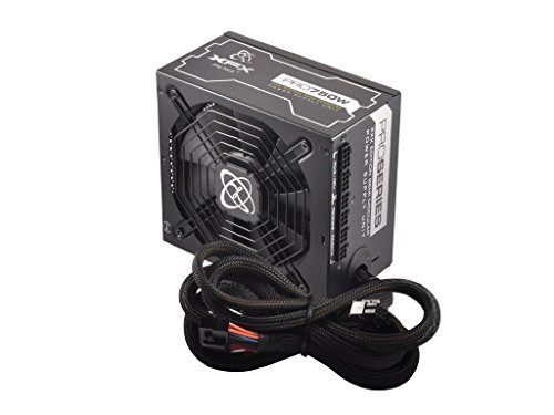 XFX 750W XXX Edition Single Rail Power Supply with Semi Modular Cables 240-Pin 750 Energy Star Certified Power Supply P1750XXXB9 (Modular Power Supply Xfx compare prices)