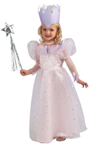 Wizard Of Oz Newborn Glinda Gown, Pink, Infant Costume (Glinda Toddler Costume)