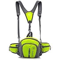 Cycling Hiking Waist Pack,Lemonworld Multifunctional Waterproof Waist Pack With Water Bottle Holder Sports Waist...
