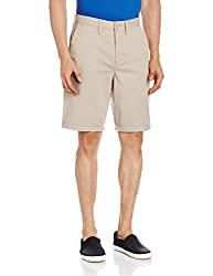 VANS Men's Cotton Shorts (8907222569426_VN0000PUJ5I_28_Vintage Khaki and Camo)